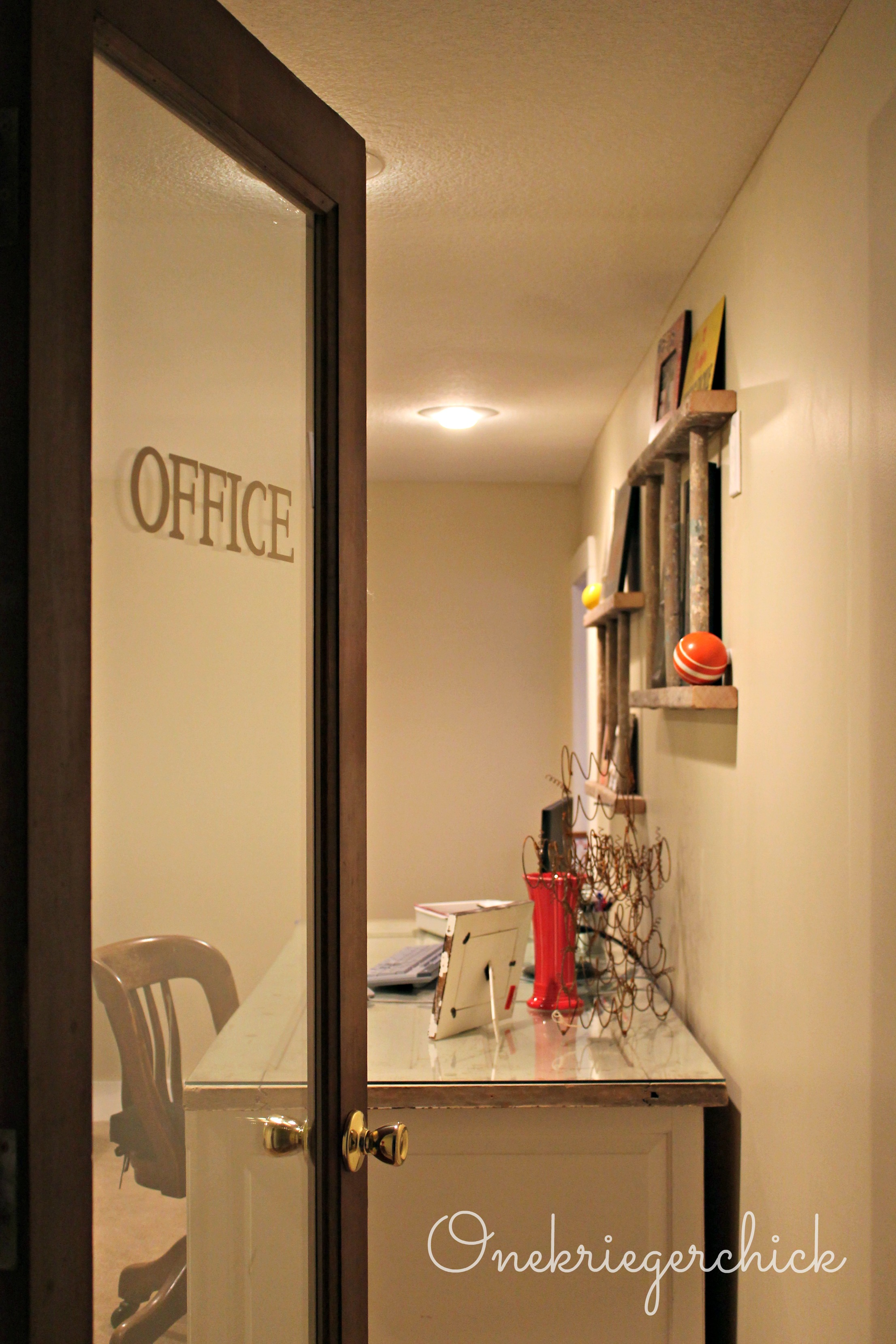 Home Office Updateand A Giveaway Winner Onekriegerchick
