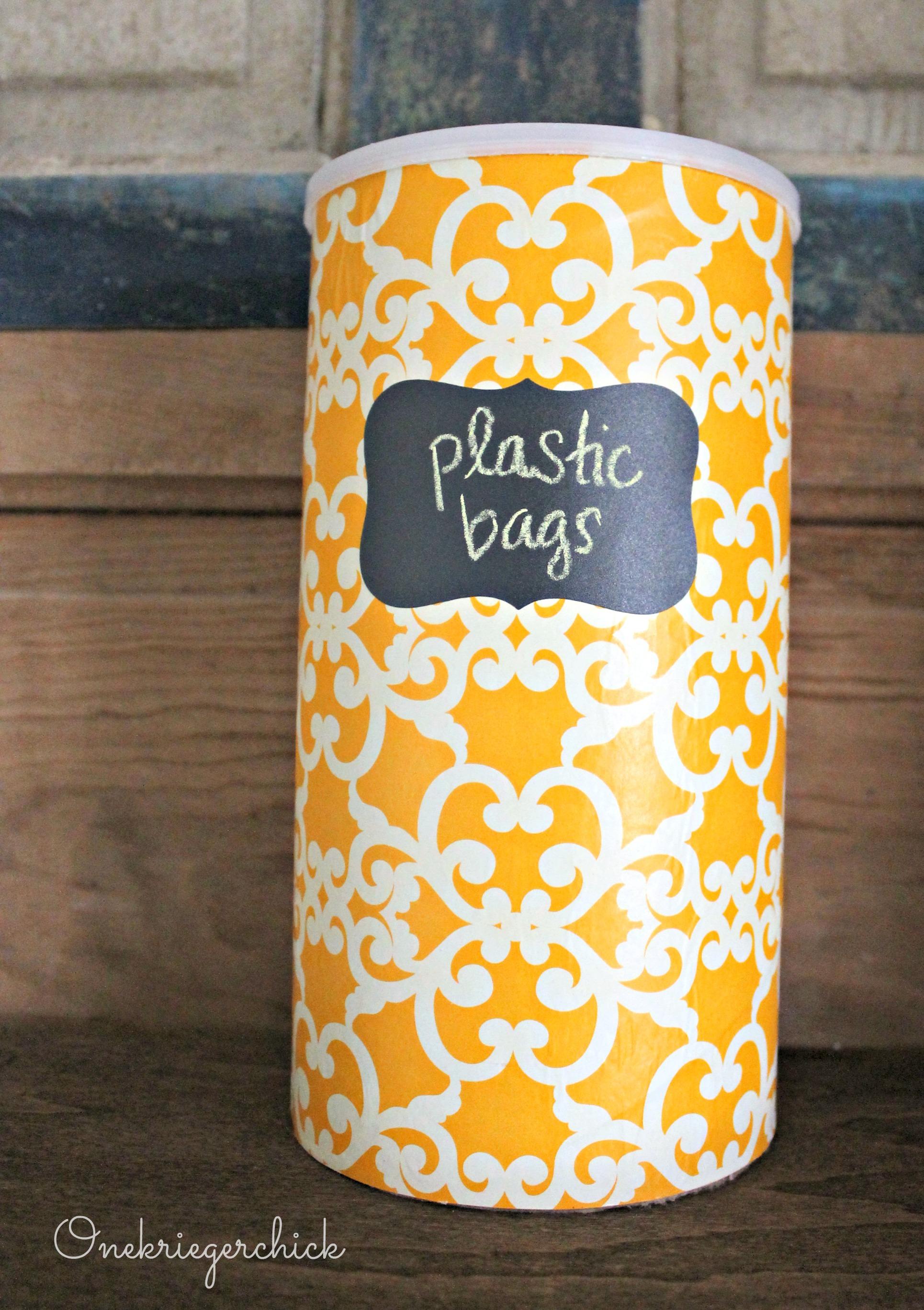 Decorative storage container 15 minute craft for Diy plastic