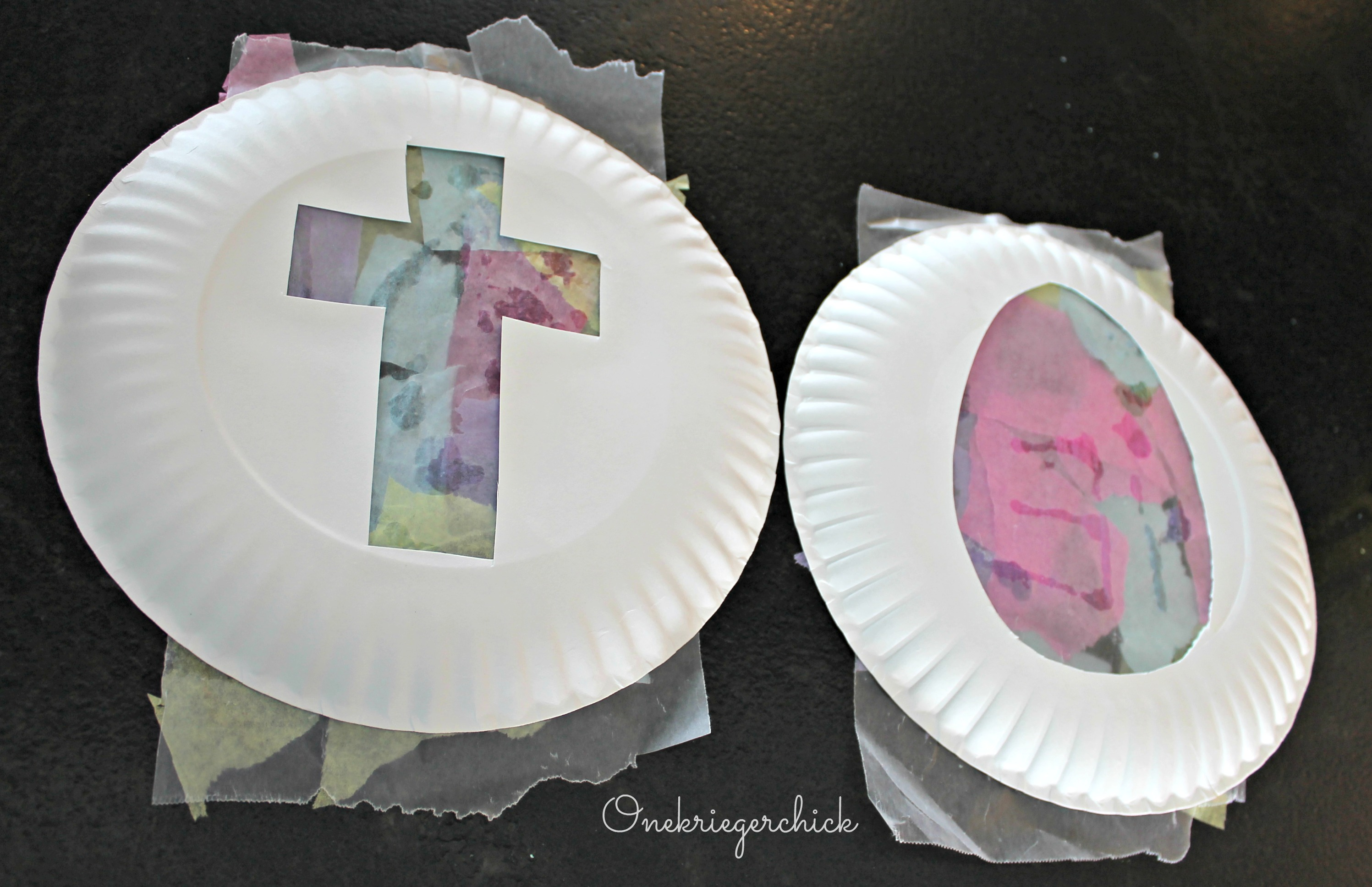 Easter Kids Craft And A Pinterest Fail Onekriegerchick