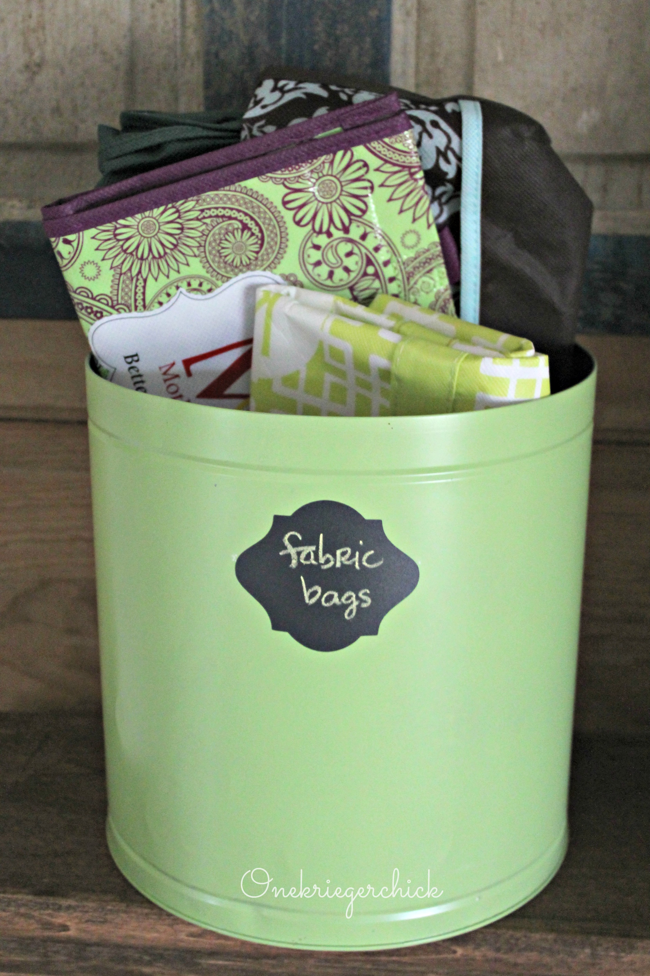 Make Decorative Storage Containers from Recycled Tins ... |Tin Storage Containers