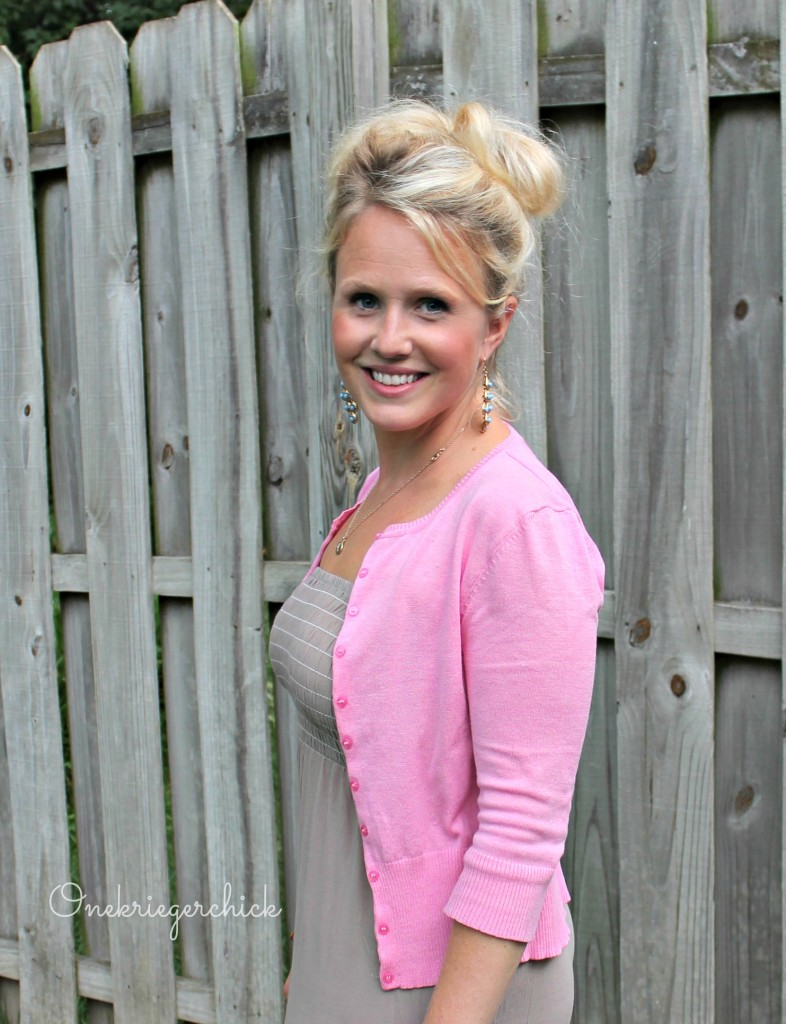 What I Wore Wednesday Mocha Amp Pink Onekriegerchick