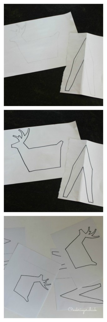 Making a 3-D Deer Stencil