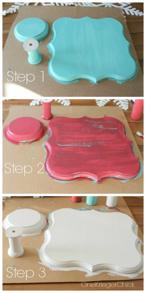 Painting Steps 1-3