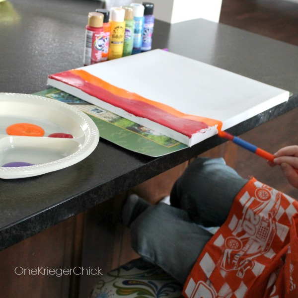 Make-it-yourself-Rainbow-painting-for-kids