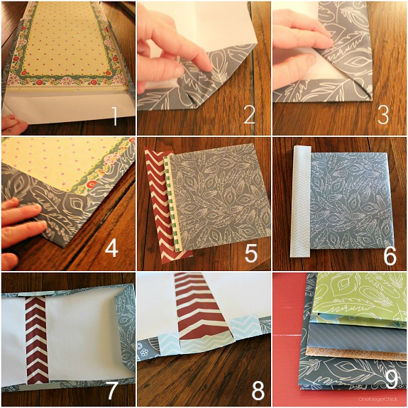 make your own decorative covered books onekriegerchick