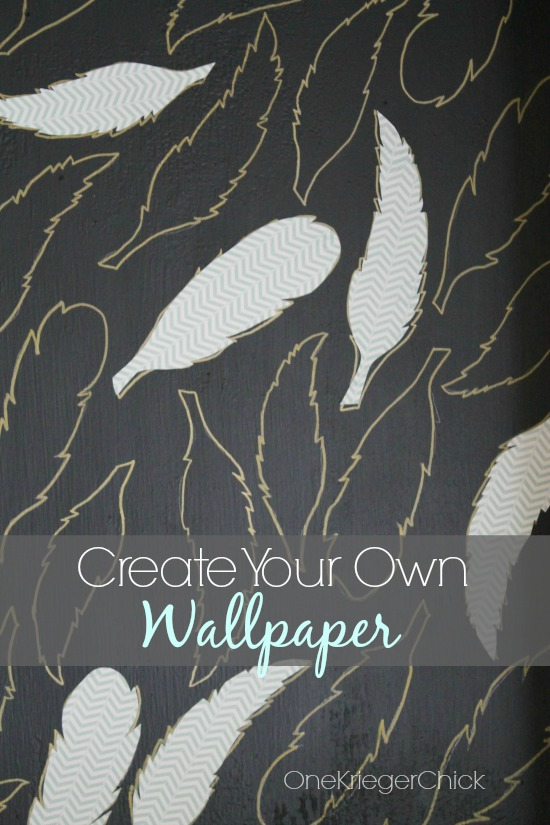 Make your own wallpaper elegant how to make your own for Create your own mural wallpaper