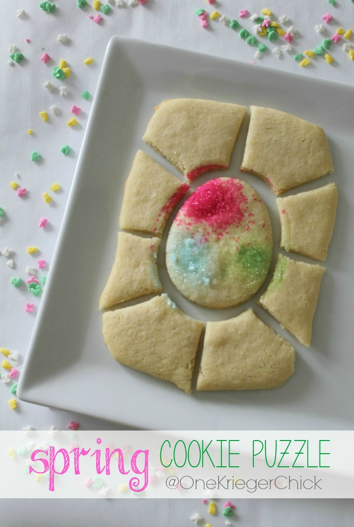 Easter Cookies: Spring Puzzle Cookie