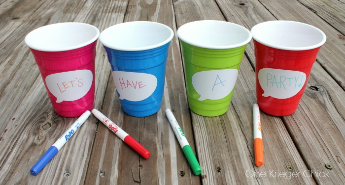 Perfect-Party-cups-with-dry-erase-labels!