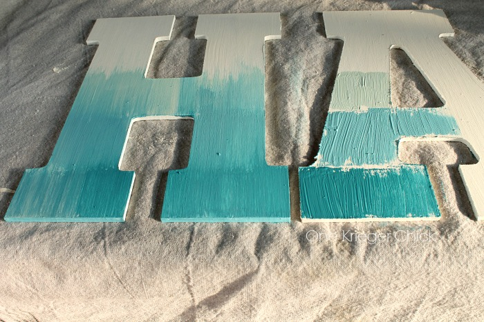 after painting splash i thought it needed a little something more why not a small sign to spell out make asplash so simple to make
