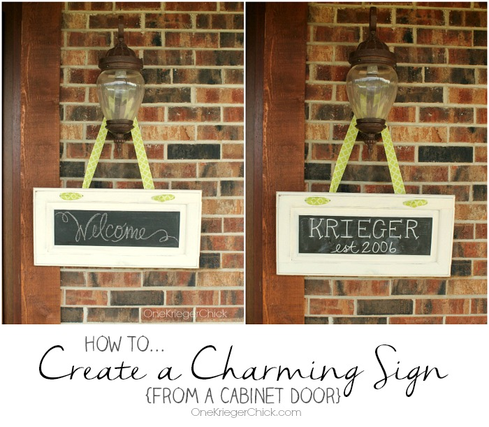 How-to-create-a-charming-sign-from-a-cabinet-door-OneKriegerChick.com