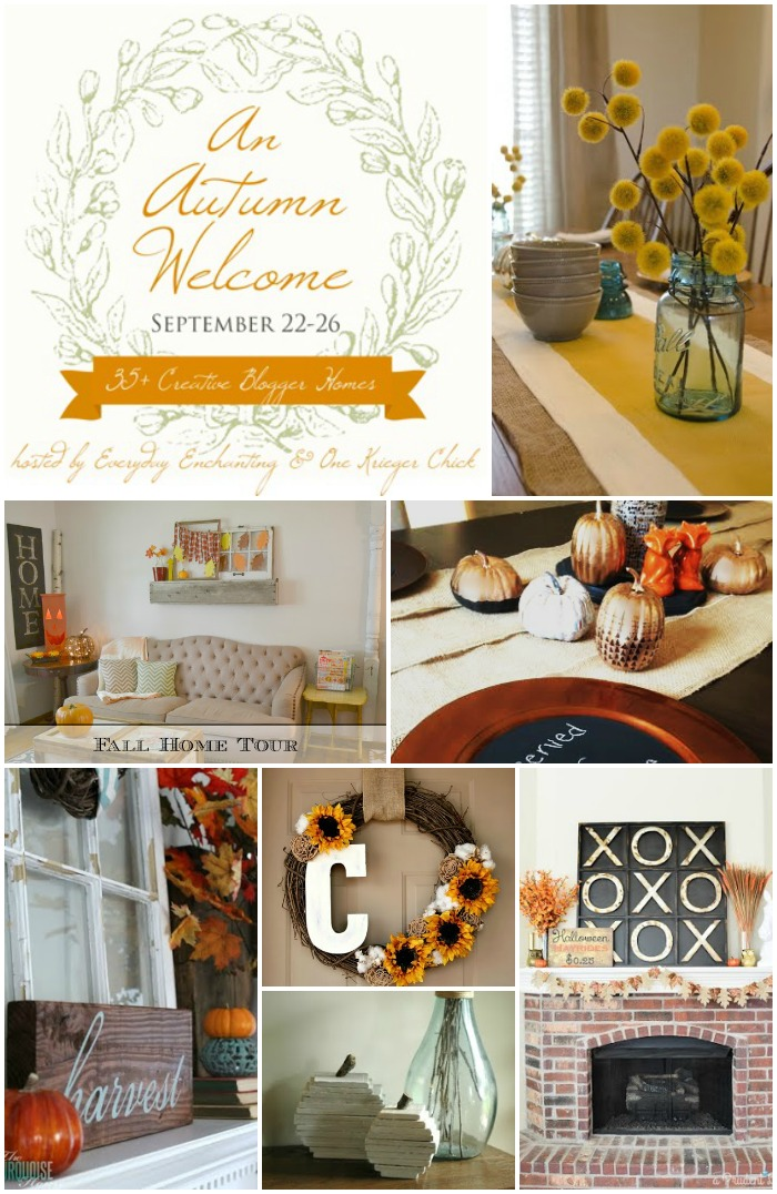 An Autumn Welcome Home Tour 2014