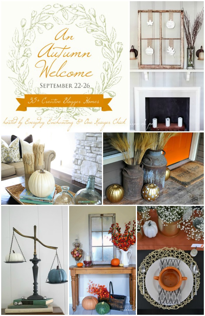 An Autumn Welcome Home Tour