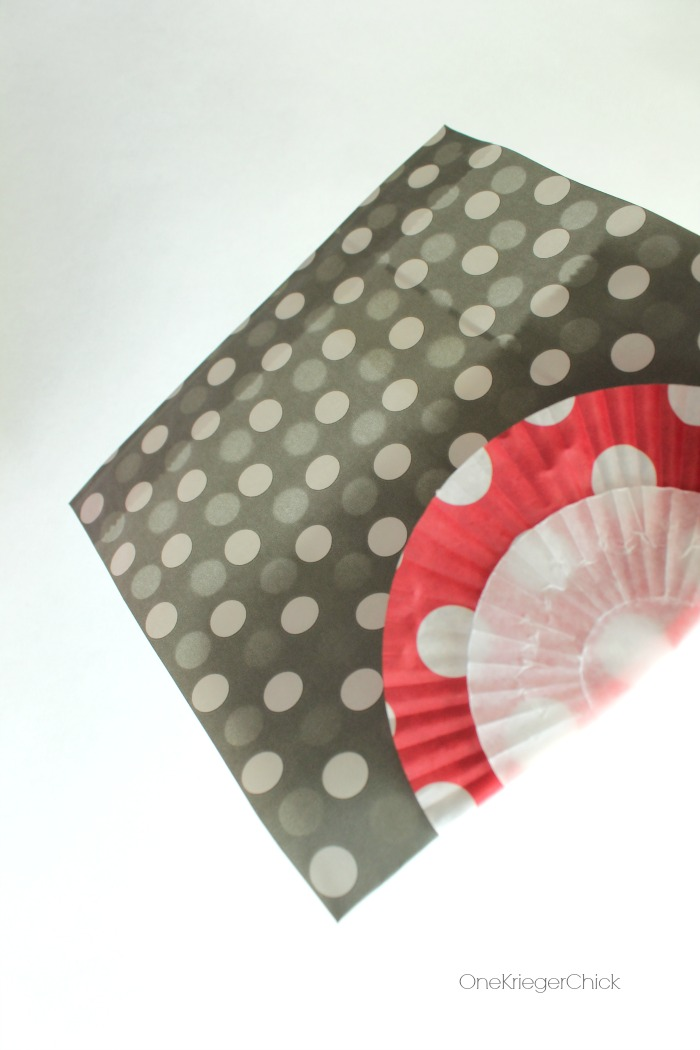 Fold cupcake liners over- OneKriegerChick