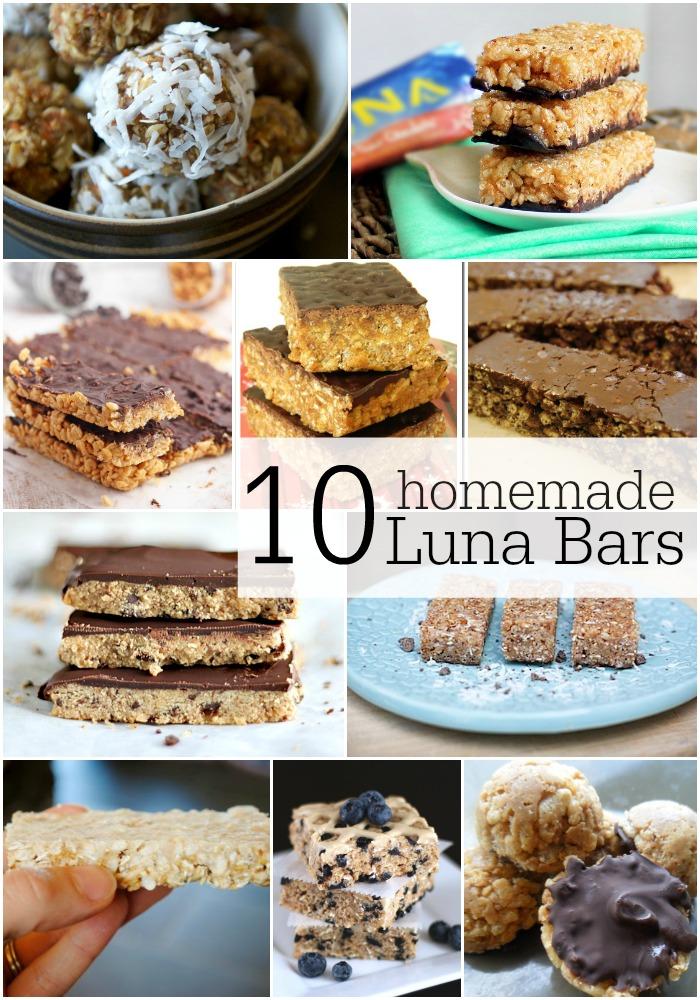 Carrot Cake Luna Bar Recipe