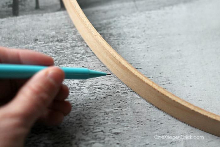tracing frame- OneKriegerChick.com