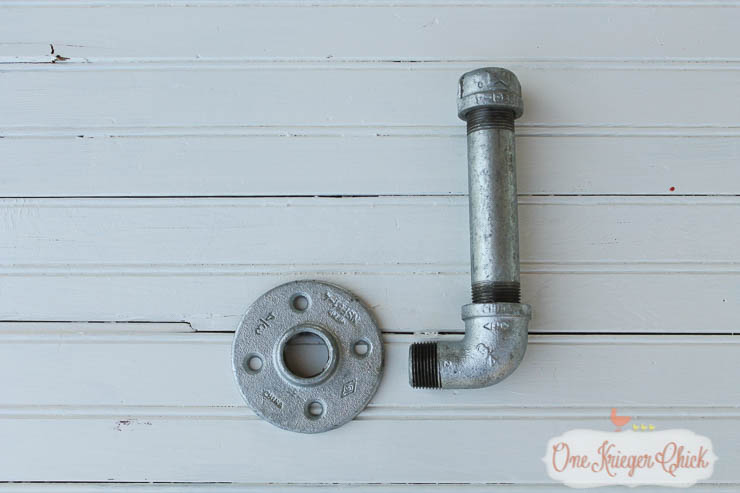 Industrial Pipe Toilet Paper Holder- 9-OneKriegerChick
