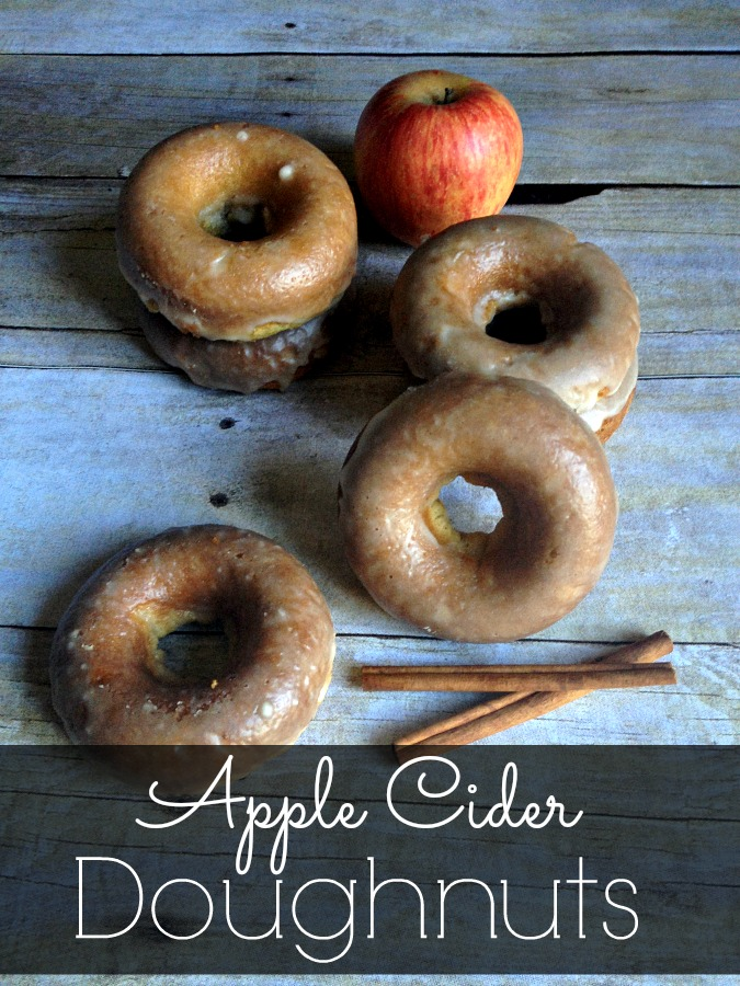 Gluten-free Baked Apple Cider Doughnuts from Inspiration for Moms