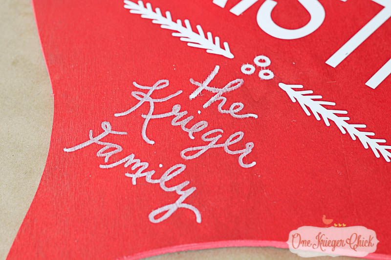 Pottery Barn Inspired Merry Christmas Sign-2- OneKriegerChick.com-9483