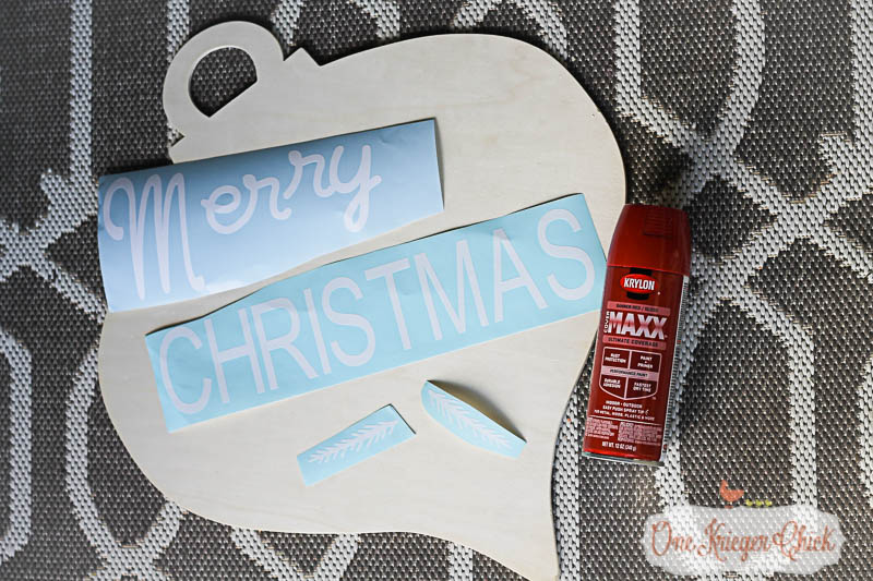 Pottery Barn Inspired Merry Christmas Sign-5- OneKriegerChick.com-9471
