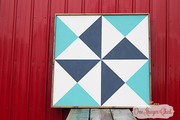 Make your own Barn Quilt-5-OneKriegerChick